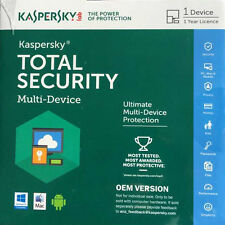 Kaspersky Total Internet Security AntiVirus for MAC Windows10 Android2016 CD&Key