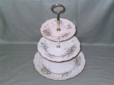 Royal Albert Haworth anfitriona China de 3 Niveles Pastel Soporte de la placa (V1-segundos)