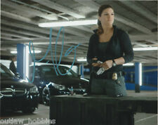 Gina Carano Autographed Signed 8x10 Photo COA D