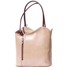 Schultertasche , Tasche aus italienischem Leder in Hand in Italien 207 ltb