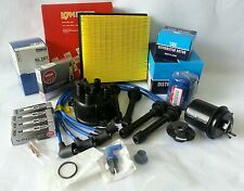 **Cap-Rotor-NGK Wires-Spark Plug-Oil-Air-Fuel-Filter Tune Up Kit Honda CRV 99-01