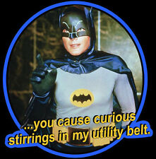 "60's TV Classic Batman ""Curious Stirrings"" custom tee Any Size Any Color"