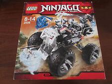LEGO NINJAGO 2506 FUORISTRADA TESCHIO SKULL TRUCK FUORI PRODUZIONE IDEA REGALO