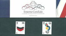 2004 Entente Cordiale Presentation pack UNMOUNTED MINT
