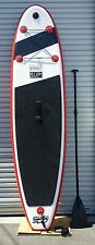 "Stand Up Paddleboard - WHAT SUP - 10' 0"" INFLATABLE. Bag, Leash, Fin, Pump, Kit"