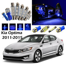 12×Blue LED Interior Light Package Kit for Kia Optima 2011-2015