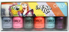 ORLY MASH UP 6-Pc Nail Polish Set~Mess Chaos Garbage Mayhem Pretty Beautiful NIB