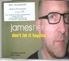 (BA876) James Henry, Don't Let It Happen - 2010 DJ CD