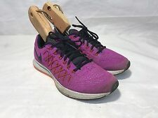 Nike Air Zoom Pegasus 32 Womens Gym Running Sport Trainers - Purple UK 6.5 40.5