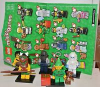 LEGO Series 11 Minifigures Choose Mini Figures 71002 Holiday Elf Island Warrior