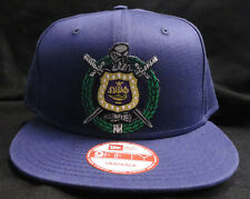 Omega Psi Phi Purple New Era NE400 Snap Back with Crest Patch