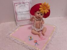 "Aston Drake Doll, ""This is My Good Side"" Resin  with Coa and Blanket"