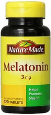Nature Made Melatonin 3mg Tablets, 120 Count