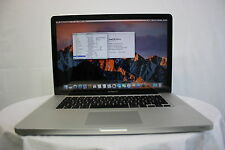 "Apple MacBook Pro 15.4"" A1286 2012 i7-3615QM 2.3GHZ 4GB 500GB OS Sierra garantie"