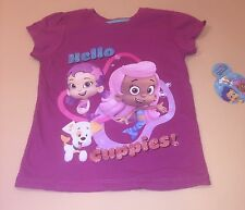 Bubble Guppies Toddler Girl Hello Guppies Shirt Top New 2T