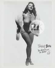 "TEMPEST STORM BURLESQUE ""The Beauty & the Bust"" Erotique Nu Strip-Tease Photo50s"