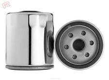 2 UNITS X RYCO MOTORCYCLE OIL FILTER - RMZ110C (CHROME) - Double Pack
