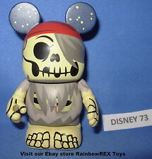 "DISNEY VINYLMATION 3"" HELMSMAN RED BANDANA SERIES 1  PIRATES OF THE CARIBBEAN"