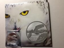 Canada 2014 $50 for $50 Fine Silver Coin - Snowy Owl