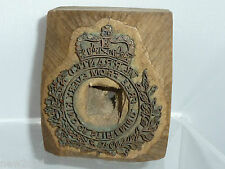 PRINT BLOCK LETTERPRESS SEAL WARRANTED FREE FROM EVERY KIND STIFFENING