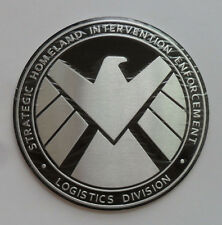 Avengers Marvel Agents of SHIELD 3D Chrome Metal Car Sticker Badge Emblem Decals
