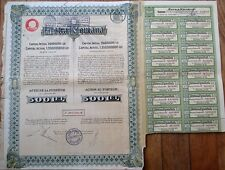 'Astra Romana' - Bucharest, Romania 1926 Oil Bearer Stock/Bond Certificate