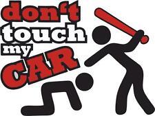 Pegatina vinilo sticker adesivi moto coche tuning JDM don't touch my car