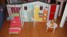 RARE BARBIE TOTALLY REAL SMART SOUNDS HOME HOUSE  W/ ACC FURNITURE
