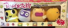TAMAGOTCHI Soft Bean Pets NIB New 4 Pack Bandai 1997