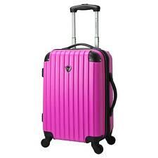 "Madison 20"" Hardside Expandable Carry-On Spinner Luggage - Pink"