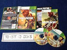Max Payne 3 Pal Uk Xbox 360 EXCELENTE CONDICION