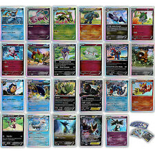 Pokemon Cards TCG : 250 Common Uncommon Bulk Lot Guaranteed + Rare Holo