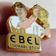 RARE PIN'S TENNIS WIMBLEDON VAINQUEUR MICHAEL STICH WATCH EBEL ARTHUS BERTRAND