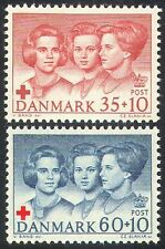 Denmark 1964 Red Cross/Medical/Health/Welfare/Princesses/Royalty 2v set (n41798)