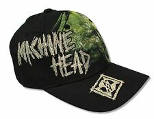 "MACHINE HEAD ""UNTO THE LOCUST"" BLK BASEBALL CAP HAT NEW OFFICIAL ADULT FITTED OS"