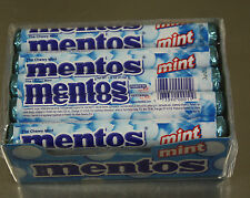 Mentos Chewy Mint Flavor 15 1.32oz Rolls Breath Candy Fresh Stock The freshmaker