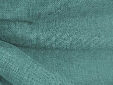 Drapery Fabric Colored Polyester Burlap Tight Weave Anti-Wrinkle - Seafoam Blue