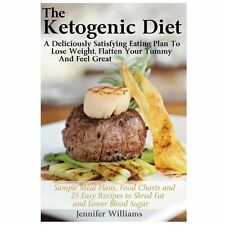 The Ketogenic Diet: a Deliciously Satisfying Eating Plan to Lose Weight,...