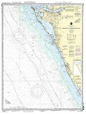 NOAA Chart Lemon Bay to Passage Key Inlet 20th Edition 11424