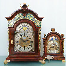 WARMINK TOP RANGE! LARGEST! Clock HIGH GLOSS Vintage WESTMINSTER MOONPHASE Chime