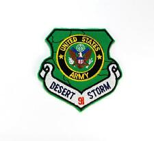 U.S. Army Desert Storm 91 Embroidered Military Patch Iron Sew AKPM1068