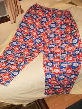 "Home made, men's ""Los Angeles Clippers"" pajama bottoms/pants, BIG, size 48/34"