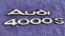 Vintage ~ ORIGINAL ~ VW ~ Emblem Logo  ~ AUDI 4000 S