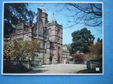 POSTCARD CUMBRIA GRANGE-OVER-SANDS HOLKER HALL THE FRONT ENTRANCE