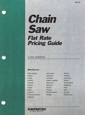 Chain Saw Flat Rate Pricing Guide : CF-11