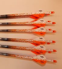 1 dozen Gold Tip Pro Hunter 7595/340 carbon custom arrows w/blazers!