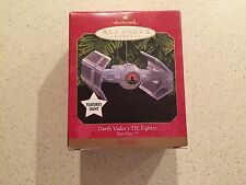 HALLMARK STAR WARS 1999 DARTH VADER'S TIE FIGHTER KEEPSAKE ORNAMENT