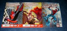 AMAZING SPIDER-MAN learning to crawl #1.1 & 1.2 + who am i? 1st print MARVEL NM