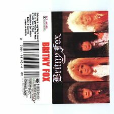 Britny Fox Self Titled Debut Cassette Tape 1988 RARE