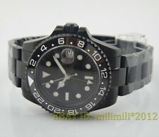 40MM PARNIS GMT CERAMIC BEZEL SUBMARINER AUTOMATIC WATCH